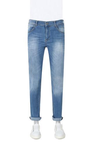 Twn Super Slim Fit Lacivert Taşlı Denim Pantolon - 8682060730282 | D'S Damat