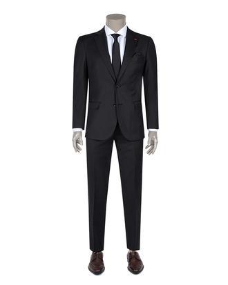 Ds Damat Slim Fit Slim Fit Siyah Yok Takim Elbise - 8682060154774 | D'S Damat