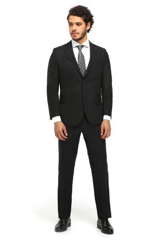 Ds Damat Comfort Fit Comfort Siyah Takim Elbise - 8682060155283 | D'S Damat