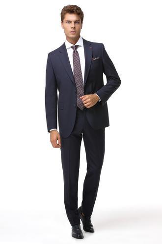 Ds Damat Regular Fit Slim Fit Lacivert Düz Takim Elbise - 8682060048158 | D'S Damat