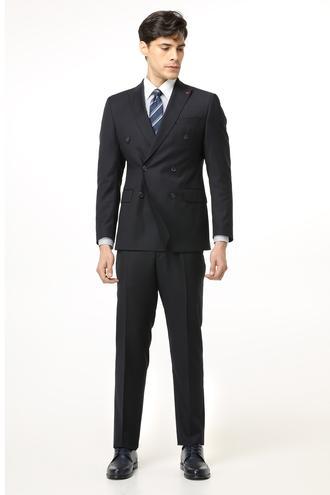 Ds Damat Slim Fit Slim Fit Lacivert Takim Elbise - 8681779877837 | D'S Damat