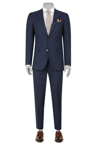 Ds Damat 8 Drop Regular Fit Lacivert Takim Elbise - 8681779924494 | D'S Damat
