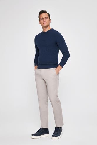 Ds Damat Slim Fit Taş Düz Pantolon - 8681779791720 | D'S Damat