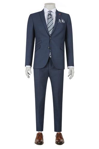 Twn Slim Fit Slim Fit Lacivert Düz Takim Elbise - 8682060088925 | D'S Damat