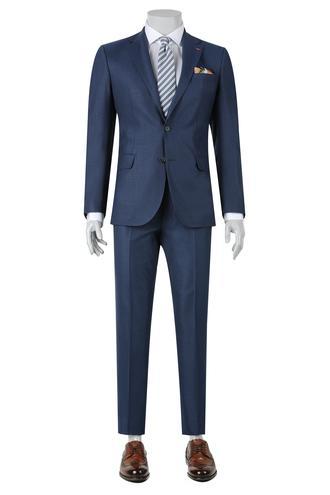 Ds Damat Slim Fit Slim Fit Lacivert Takim Elbise - 8682060095787 | D'S Damat