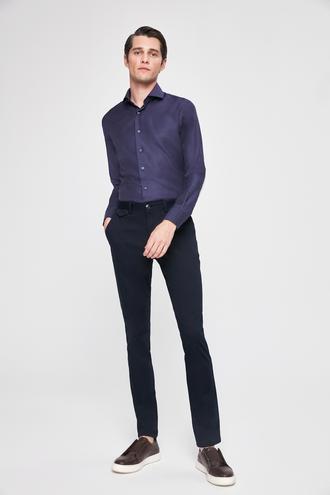 Twn Slim Fit Lacivert Pantolon - 8681779848400 | D'S Damat