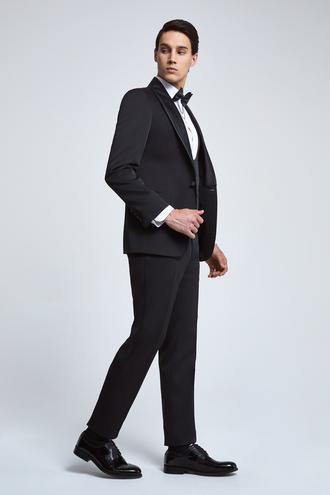 Ds Damat Slim Fit Slim Fit Siyah Takim Elbise - 8682060136602 | D'S Damat