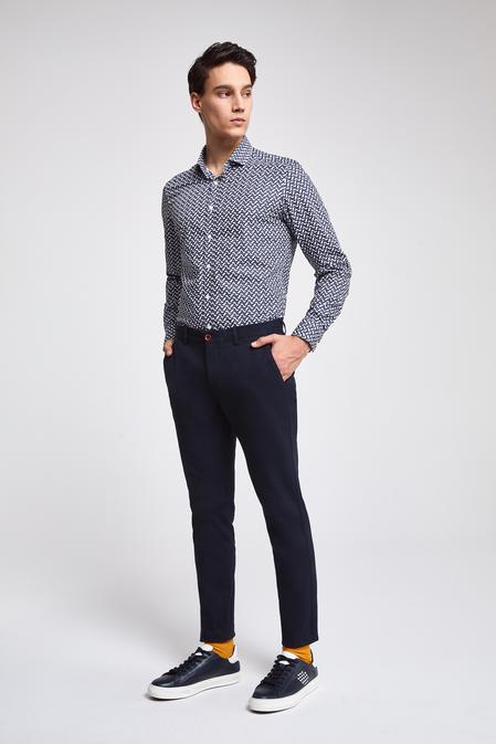 Twn Slim Fit Lacivert Pantolon - 8681779959540   D'S Damat