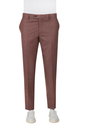 Ds Damat Slim Fit Kırmızı Kaz Ayağı Pantolon - 8682060496737 | D'S Damat