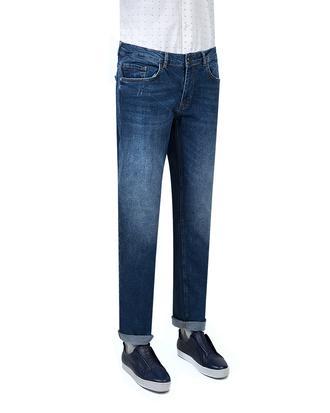 Twn Super Slim Fit Mavi Taşlı Denim Pantolon - 8682060349453 | D'S Damat