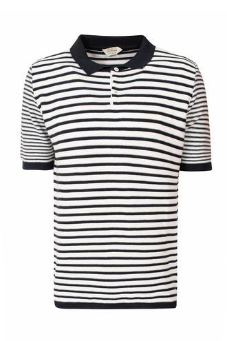 Ds Damat Regular Fit Lacivert Çizgili T-shirt - 8681779856115   D'S Damat