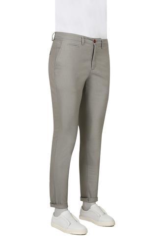 Twn Slim Fit Haki Armürlü Pantolon - 8681779807490 | D'S Damat