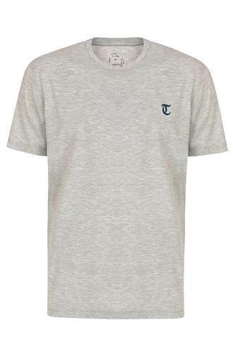 Twn Slim Fit Gri Yok T-Shirt - 8682060049865 | D'S Damat
