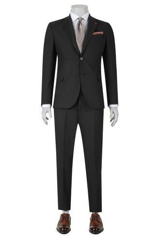 Ds Damat Slim Fit Slim Fit Antrasit Düz Takim Elbise - 8681779851776 | D'S Damat