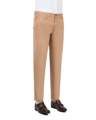 Twn Slim Fit Camel Dokulu Pantolon - 8682060495488 | D'S Damat
