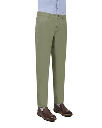 Twn Slim Fit Yeşil Dokulu Pantolon - 8682060495525 | D'S Damat