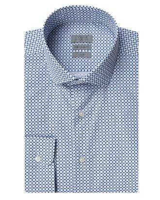 Twn Slim Fit Mavi Baskılı Gömlek - 8681779859550 | D'S Damat