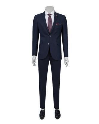 Twn Slim Fit Slim Fit Lacivert Takim Elbise - 8681779860372 | D'S Damat