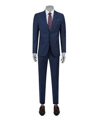 Ds Damat Slim Fit Slim Fit Lacivert Takim Elbise - 8681779864028 | D'S Damat