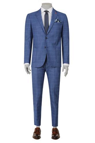 Twn Slim Fit Slim Fit Mavi Düz Takim Elbise - 8681779869979 | D'S Damat