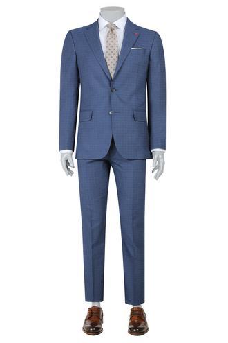 Ds Damat Slim Fit Slim Fit Lacivert Takim Elbise - 8681779870951 | D'S Damat