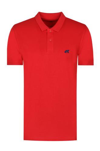 Twn Slim Fit Kırmızı Düz T-Shirt - 8682060349200 | D'S Damat