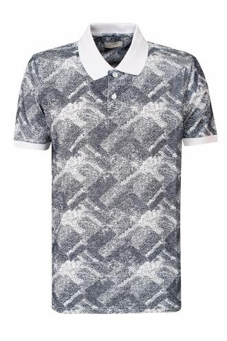 Ds Damat Regular Fit Lacivert Baskılı T-shirt - 8681779874645 | D'S Damat