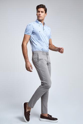 Ds Damat Slim  Fit Bej Pantolon - 8681779900351 | D'S Damat