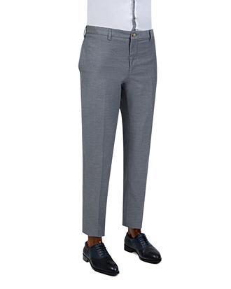 Twn Slim Fit Lacivert Düz Pantolon - 8681779909002 | D'S Damat