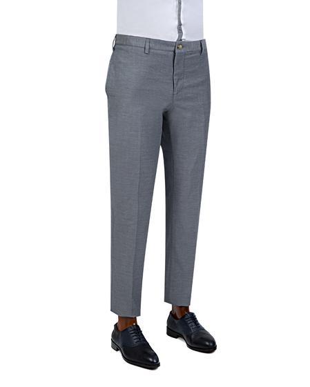 Twn Slim Fit Lacivert Düz Pantolon - 8681779909002   D'S Damat