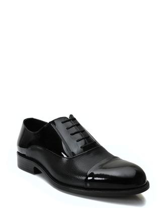Ds Damat Siyah Smokin Ayakkabı - 8681779911807 | D'S Damat