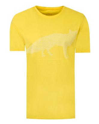 Twn Slim Fit Sarı Düz T-Shirt - 8682060348142 | D'S Damat