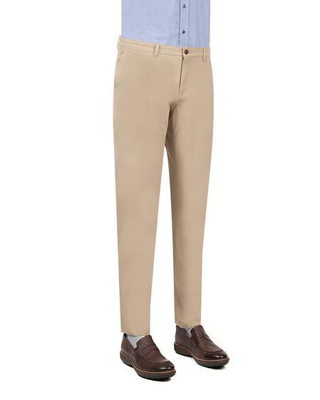 Twn Slim Fit Bej Düz Chino Pantolon - 8682060349071 | D'S Damat