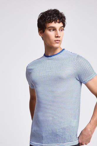 Twn Slim Fit Mavi T-Shirt - 8682060044624 | D'S Damat