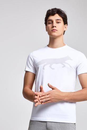 Twn Slim Fit Beyaz T-Shirt - 8682060045065 | D'S Damat