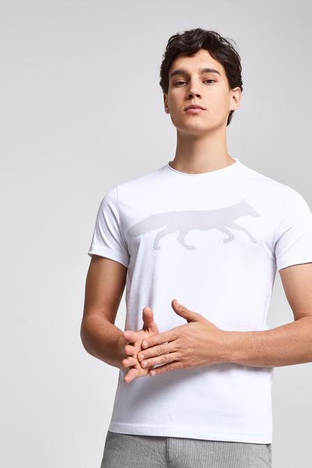Twn Slim Fit Beyaz T-shırt - 8682060045065 | D'S Damat