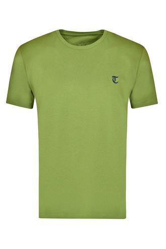 Twn Slim Fit Haki Düz T-shirt - 8682060049827 | D'S Damat