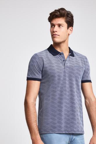 Ds Damat Regular Fit Lacivert Baskılı T-shirt - 8682060061010 | D'S Damat