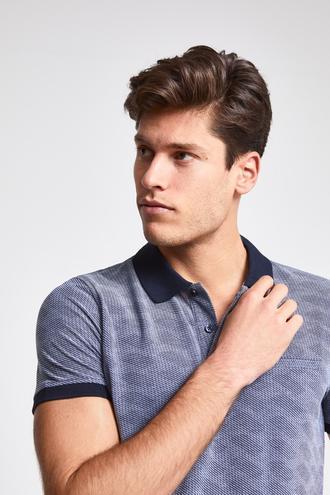 Ds Damat Regular Fit Lacivert Baskılı T-shirt - 8681779875031 | D'S Damat
