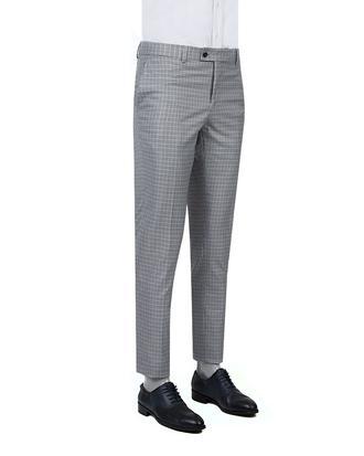 Twn Lacivert Kaz Ayağı Kumaş Pantolon - 8682060351074 | D'S Damat