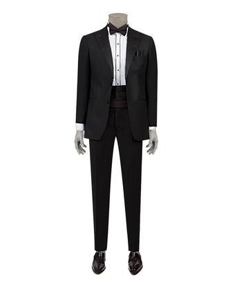 Ds Damat Slim Fit Slim Fit Siyah Düz Takim Elbise - 8682060135711 | D'S Damat