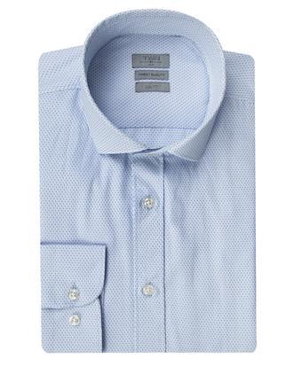 Twn Slim Fit Mavi Armürlü Gömlek - 8682060352934 | D'S Damat