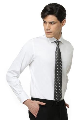 Ds Damat Slim Fit Beyaz Düz Gömlek - 8682060151308 | D'S Damat