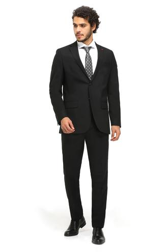 Ds Damat Regular Fit Regular Fit Siyah Düz Takim Elbise - 8682060154606 | D'S Damat