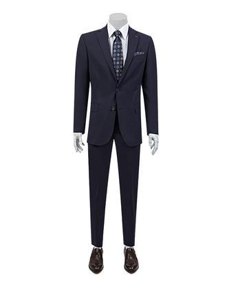Ds Damat Regular Fit Regular Fit Lacivert Düz Takim Elbise - 8682060154859 | D'S Damat