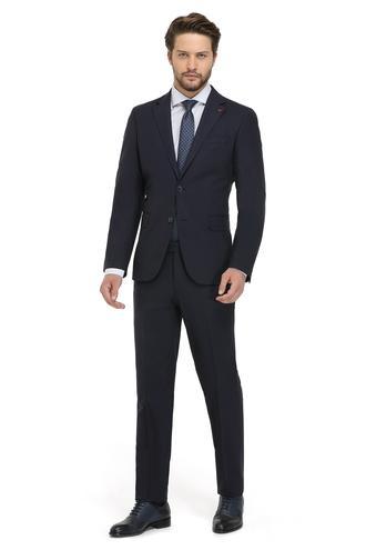 Ds Damat Slim Fit Slim Fit Lacivert Yok Takim Elbise - 8682060155078 | D'S Damat