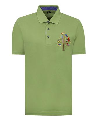 Ds Damat Regular Fit Yeşil T-shirt - 8681779117148 | D'S Damat