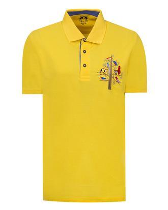 Ds Damat Regular Fit Sarı T-Shirt - 8682060374103   D'S Damat