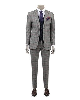 Ds Damat Slim Fit Slim Fit Gri Kombinli Takım Elbise - 8681778569979 | D'S Damat