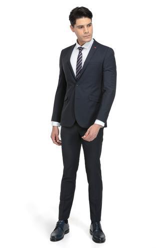 Twn Slim Fit Slim Fit Lacivert Düz Takim Elbise - 8681779644200 | D'S Damat